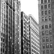 Chicago Faces Art Print