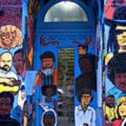 Chicago Graffiti Art Print