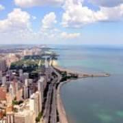 Chicago Lake Art Print