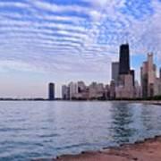 Chicago Lakeshore Art Print