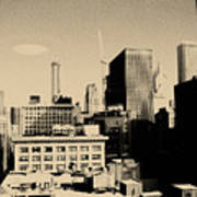 Chicago Loop Skyline Art Print