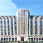 Chicago Merchandise Mart South Facade Art Print