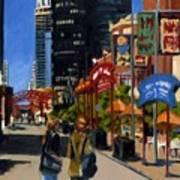 Chicago - Navy Pier Art Print