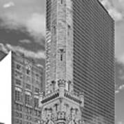 Chicago - Old Water Tower Art Print by Christine Till