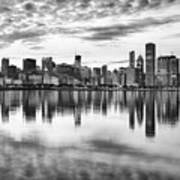 Chicago Reflection Art Print by Donald Schwartz