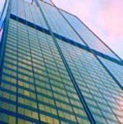 Chicago Sears Willis Tower Pop Art Art Print