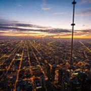 Chicago Skies Art Print