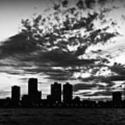 Chicago Skyline At Dusk Art Print