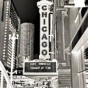 Chicago Theater - 2 Art Print