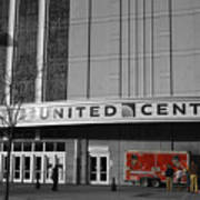 Chicago United Center Signage Sc Art Print