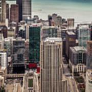 Chicago Views Art Print