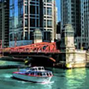 Chicago Wendella Boat Tours Art Print