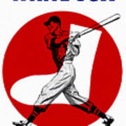 Chicago White Sox 1960 Scorebook Art Print