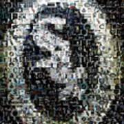 Chicago White Sox Ring Mosaic Art Print