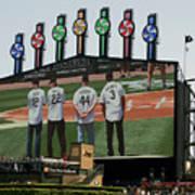 Chicago White Sox Scoreboard Thank You 12 22 44 3 Art Print