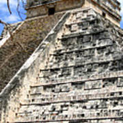 Chichen Itza Up Close Art Print