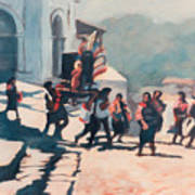 Chichicastenango Procession Art Print