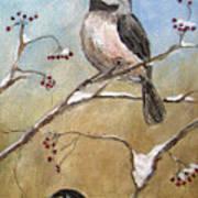 Chickadee Part 2 Art Print