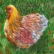 Birschen Chicken  Art Print