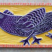 Chicken And Chicken Little Art Print by James Neill