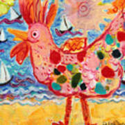 Chicken Of The Sea #2 Art Print