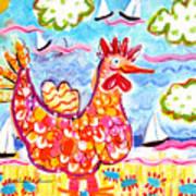 Chicken Of The Sea Art Print