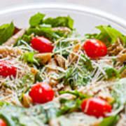 Chicken Pasta Salad Art Print