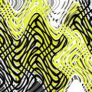 Chicken Scratch Abstract Art Print