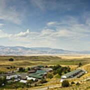Chico Hot Springs Pray Montana Panoramic Art Print