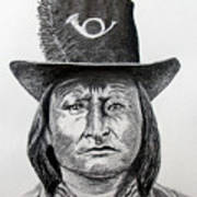 Chief Bird-arapahoe Art Print