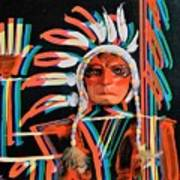 Chief Brill Yount Art Print