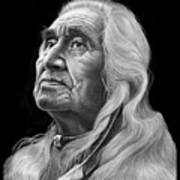 Chief Dan George Art Print