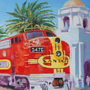 Chief In San Diego Art Print