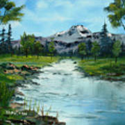 Chief Joseph Ranch Montana Art Print