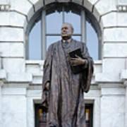 Chief Justice Edward Douglas White Statue- Nola Art Print
