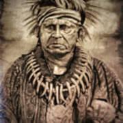 Chief Keokuk  Art Print