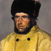 Chief Lifeboatman Lars Kruse Art Print