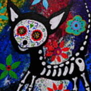 Chihuahua Day Of The Dead Art Print
