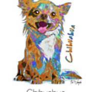 Chihuahua Pop Art Art Print