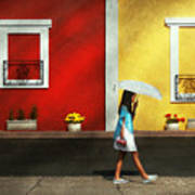 Child - A Bright Sunny Day  Art Print