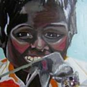 Child Eating A Rat 2007 For The Love Of Money Art Print