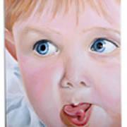 Childhood Reflections I Art Print