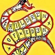 Children Of Eden's Snake Of Temptation Art Print