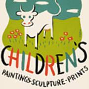 Children's Paintings-sculpture-prints Art Print