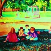 Childs Play Art Print