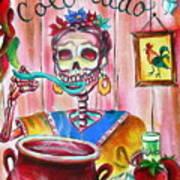 Chile Colorado Art Print