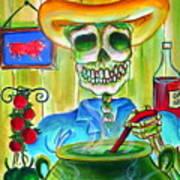 Chile Verde Art Print by Heather Calderon