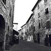Chilling Out In Tuscany Art Print