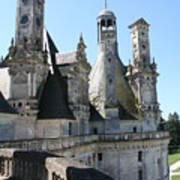 Chimney From Chambord - Loire Art Print