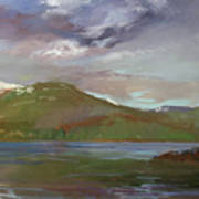 Chimney Rock  At Priest Lake  Plein Air Art Print